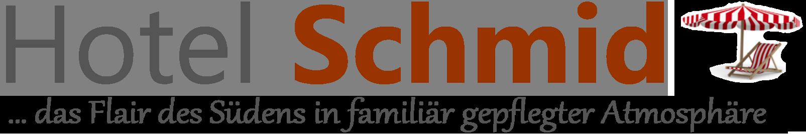 Hotel Schmid | Flair des Südens in familiär gepflegter Atmosphäre